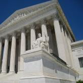 Supreme Court building, Washington, DC, USA.