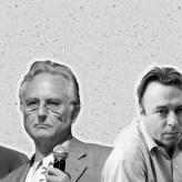 Image of Sam Harris, Richard Dawkins, Christopher Hitchens, Daniel Dennett