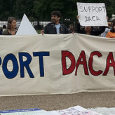 Protest in support of DACA, September 1, 2017. Photo: Joe Flood / Flickr.