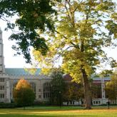 Thompson Library at Vassar College in Poughkeepsie, New York.