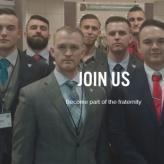 """Become part of the fraternity"": Screenshot from the Identity Evropa website."