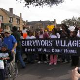 Survivors' Village at St. Bernard Projects, New Orleans.