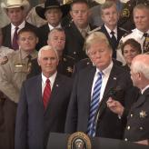 Trump meets with sheriffs
