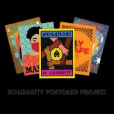 Postcards promoting Solidarity