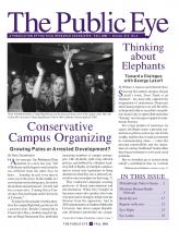 The Public Eye, Fall 2005 cover
