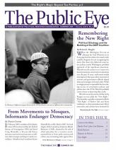 The Public Eye, Summer 2009 cover