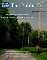 The Public Eye, Fall 2013 cover