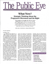 The Public Eye, Spring 1997 cover