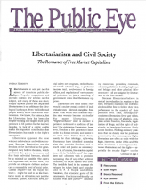 The Public Eye, Spring 1998 cover