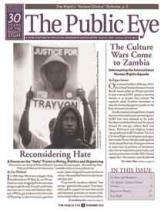 The Public Eye, Summer 2012 cover