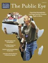The Public Eye, Summer 2013 cover