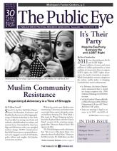 The Public Eye, Spring 2012 cover