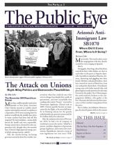 The Public Eye, Summer 2011 cover