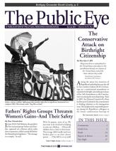The Public Eye, Winter/Spring 2011 cover