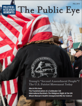 The Public Eye, Fall 2016 cover