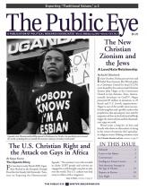 The Public Eye, Winter 2009/Spring 2010 cover