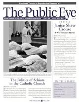 The Public Eye, Fall 2009 cover