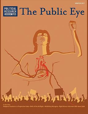 The Public Eye, Winter 2017 cover