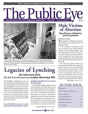 The Public Eye, Fall 2007 cover