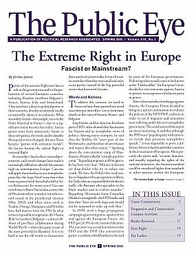 The Public Eye, Spring 2005 cover