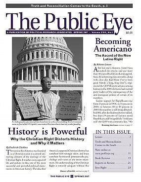 The Public Eye, Spring 2007 cover