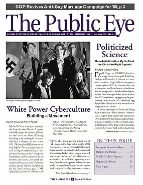 The Public Eye, Summer 2006 cover