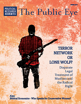 The Public Eye, Spring 2015 cover