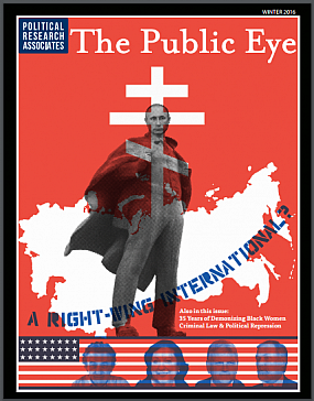 The Public Eye, Winter 2016 cover