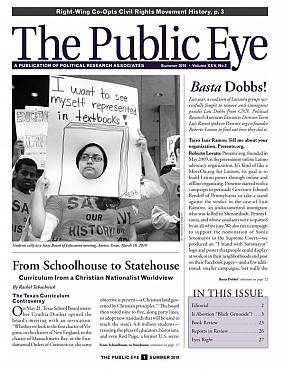 The Public Eye, Summer 2010 cover