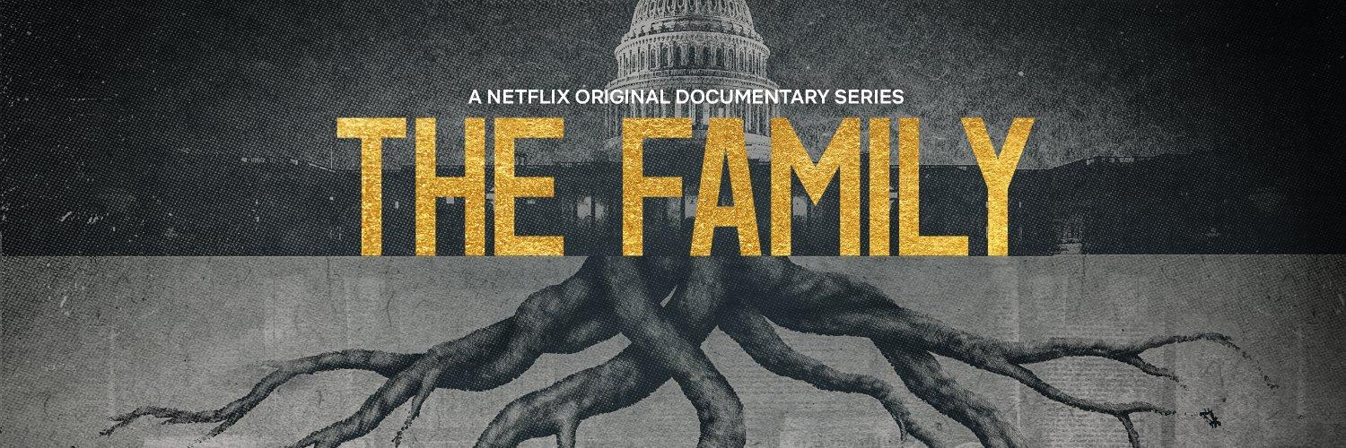 title card for netflix the family docuseries