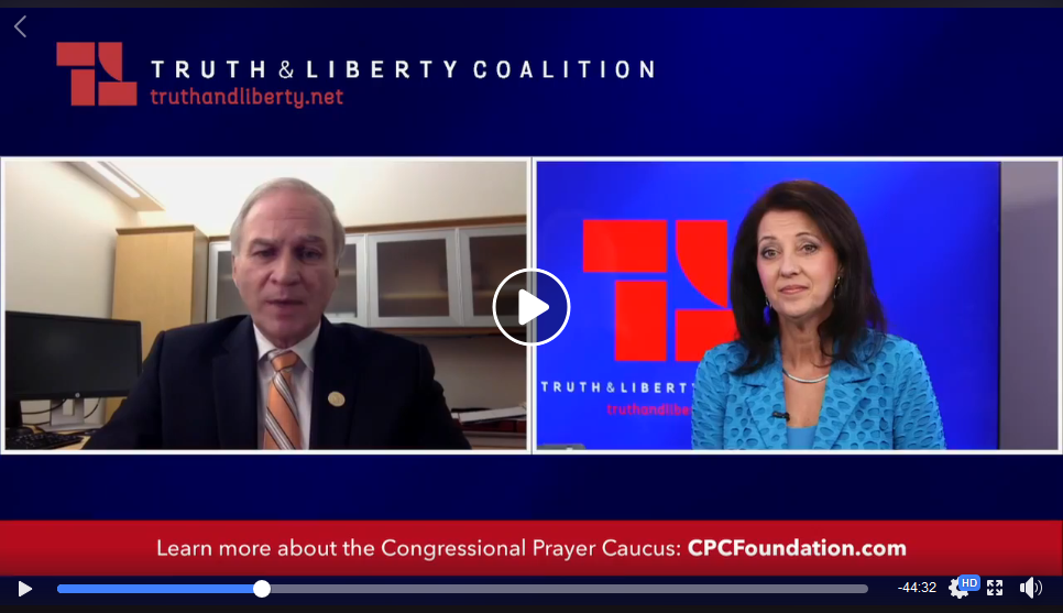 Randy Forbes and Lea Carawan on Truth & Liberty Livecast