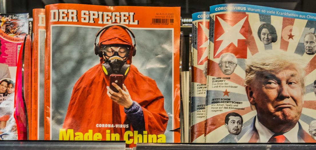 "Cover image of Der Spiegel: ""Made in China"""